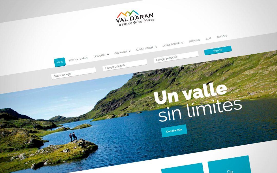 Web Torisme Val d'Aran